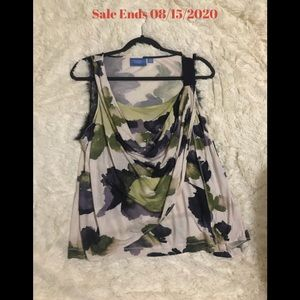 Women's Simply Vera by Vera Wang Floral Blouse